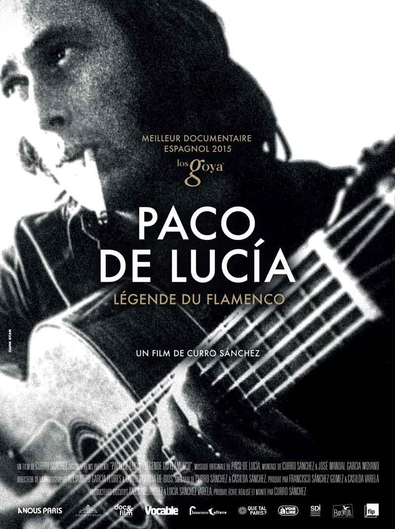 """Affiche """"Paco de Lucía, légende du flamenco"""" (2014)"""