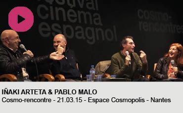 INAKI ARTETA ET PABLO MALO COSMORENCONTRE