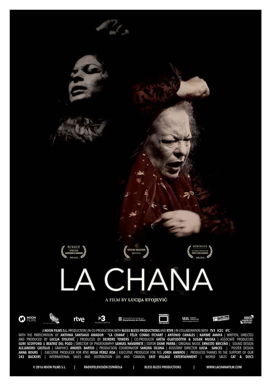 """Affiche """"La Chana"""" (2016)"""