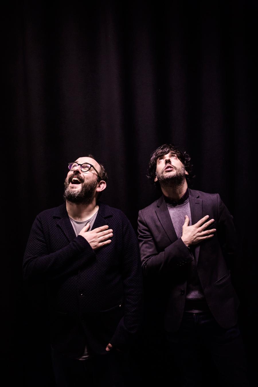Borja Cobeaga et Diego San José 2018 ©Jorge Fuembuena