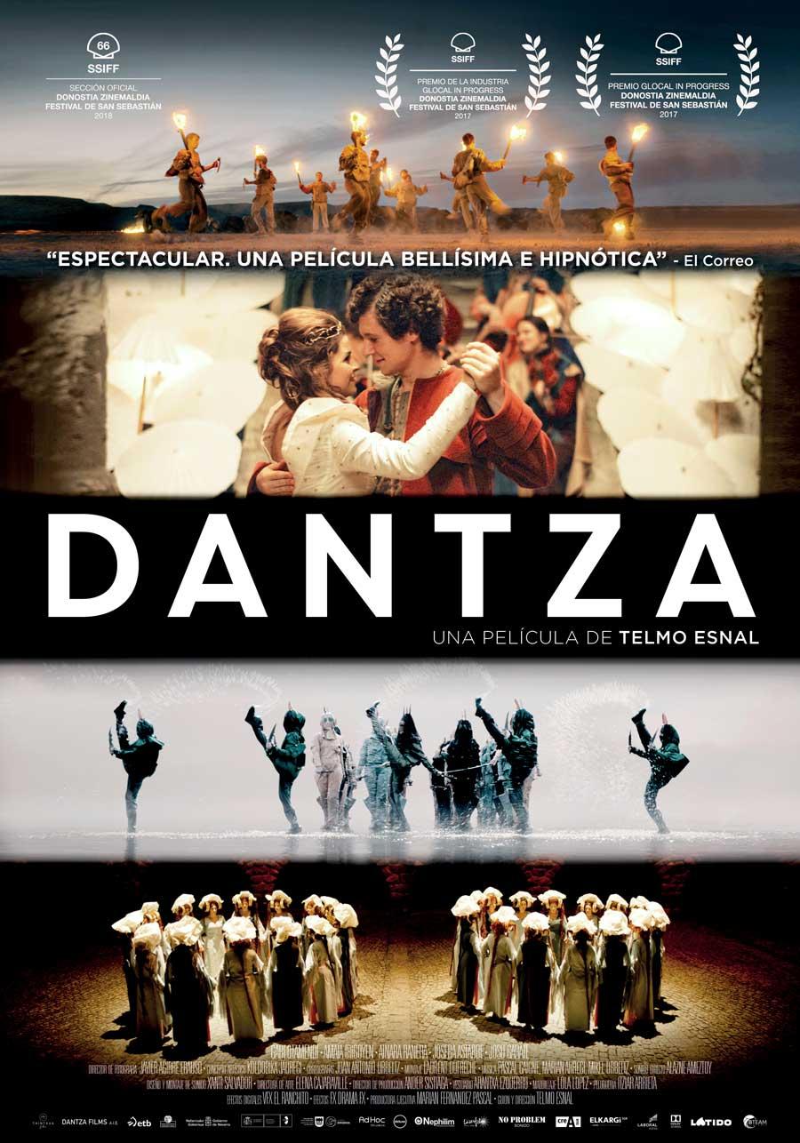 """Affiche """"Dantza"""" (2018)"""