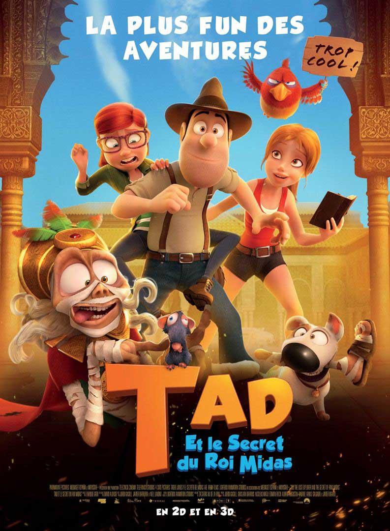 """Affiche """"Tad et le secret du Roi Midas"""" (2017)"""