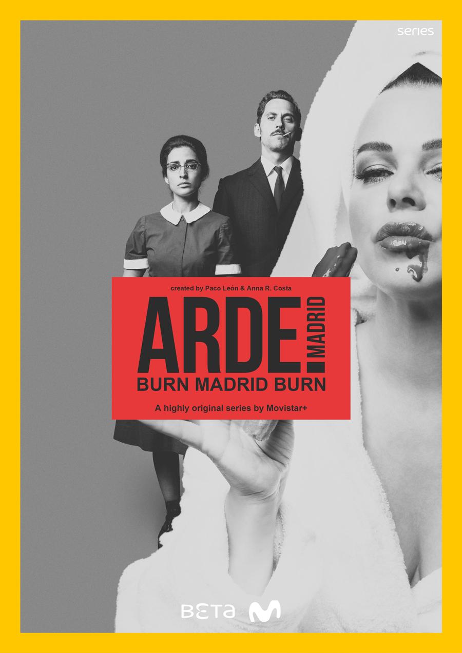 Affiche Arde Madrid