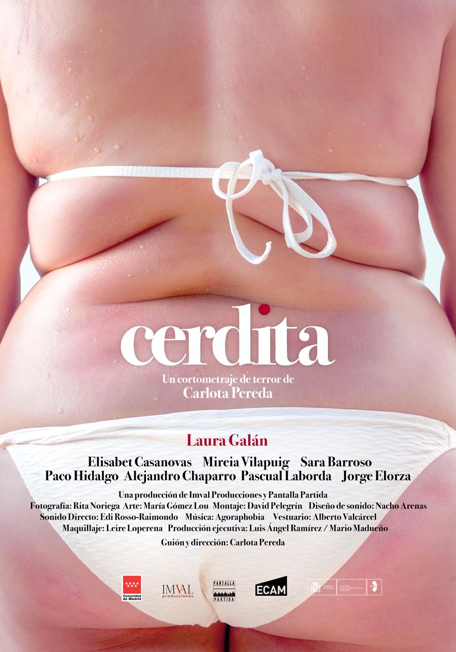 "Affiche ""Cerdita"" de Carlota Pereda (2018)"