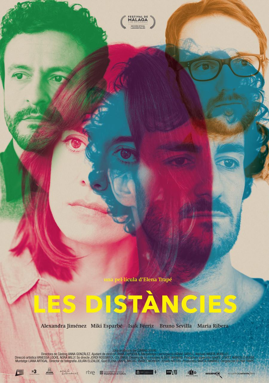 """Affiche """"Les Distàncies"""" (2018)"""