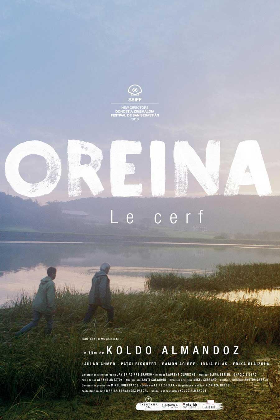 """Affiche """"Oreina"""" (2018)"""
