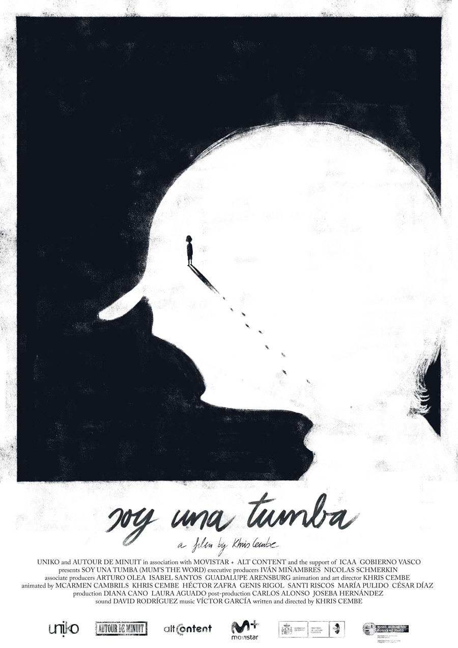 "Affiche ""Soy una tumba"" de Khris Cembe (2018)"