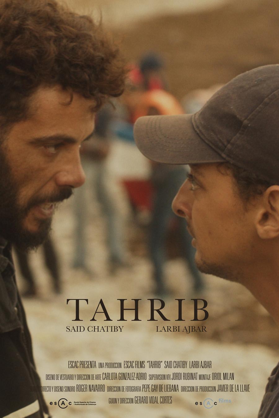 "Affiche ""Tahrib"" de Gerad Vidal (2018)"