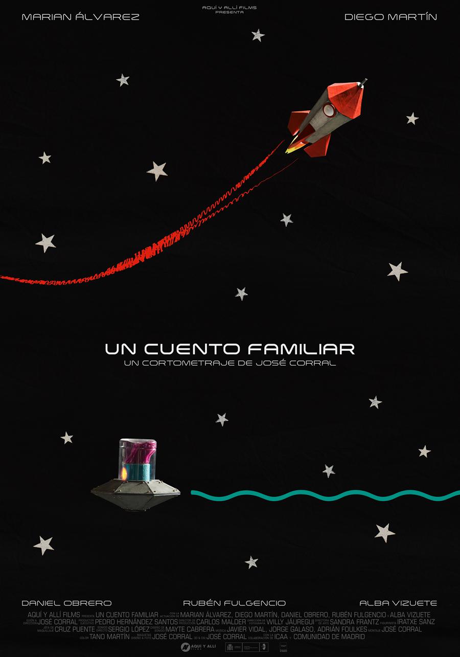 """Affiche """"Un cuento familiar"""" de José Corral (2018)"""