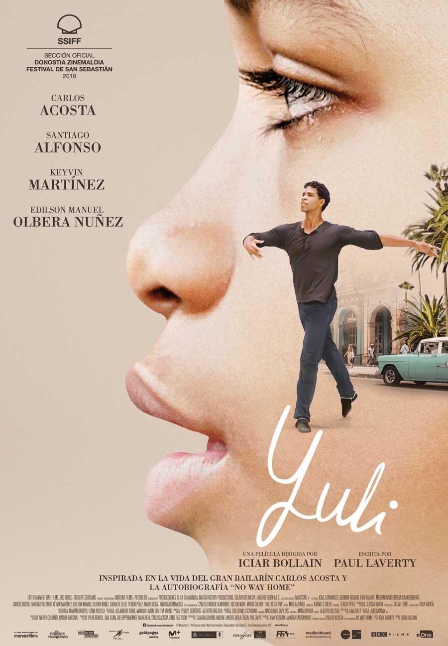 "Affiche ""Yuli"" d'Iciar Bollain (2018)"