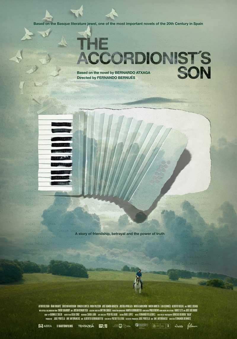 """Affiche """"El hijo del acordeonista"""" (2019)"""
