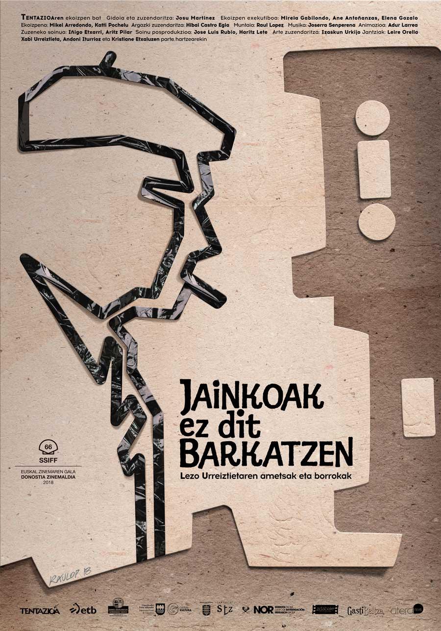 """Affiche """"Jainkoak ez dit barkatzen"""" (2018)"""
