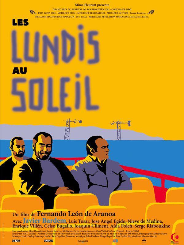 """Affiche """"Les lundis au soleil"""" (2002)"""
