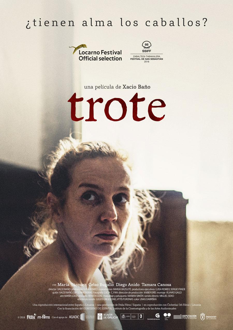 """Affiche """"Trote"""" (2018)"""