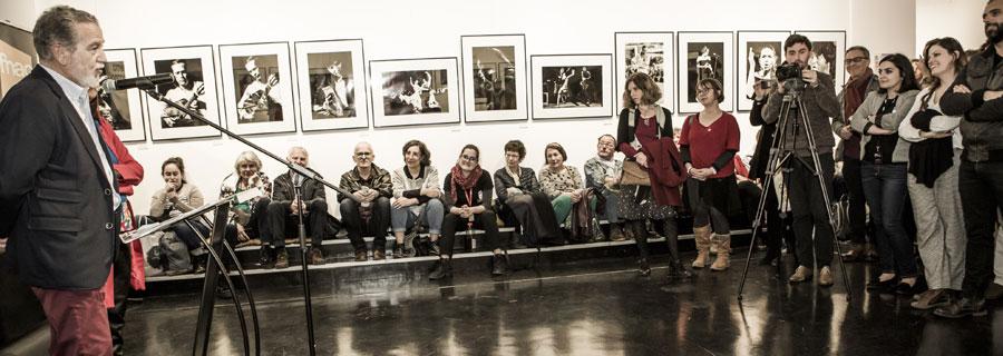 Vernissage des expositions à l'Espace Cosmopolis en partenariat avec l'Instituto Cervantes