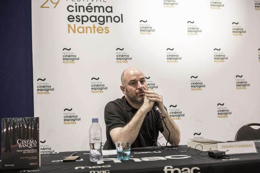 Joxean Fernández, co-directeur du Festival du Cinéma Espagnol de Nantes et directeur de la cinémathèque basque