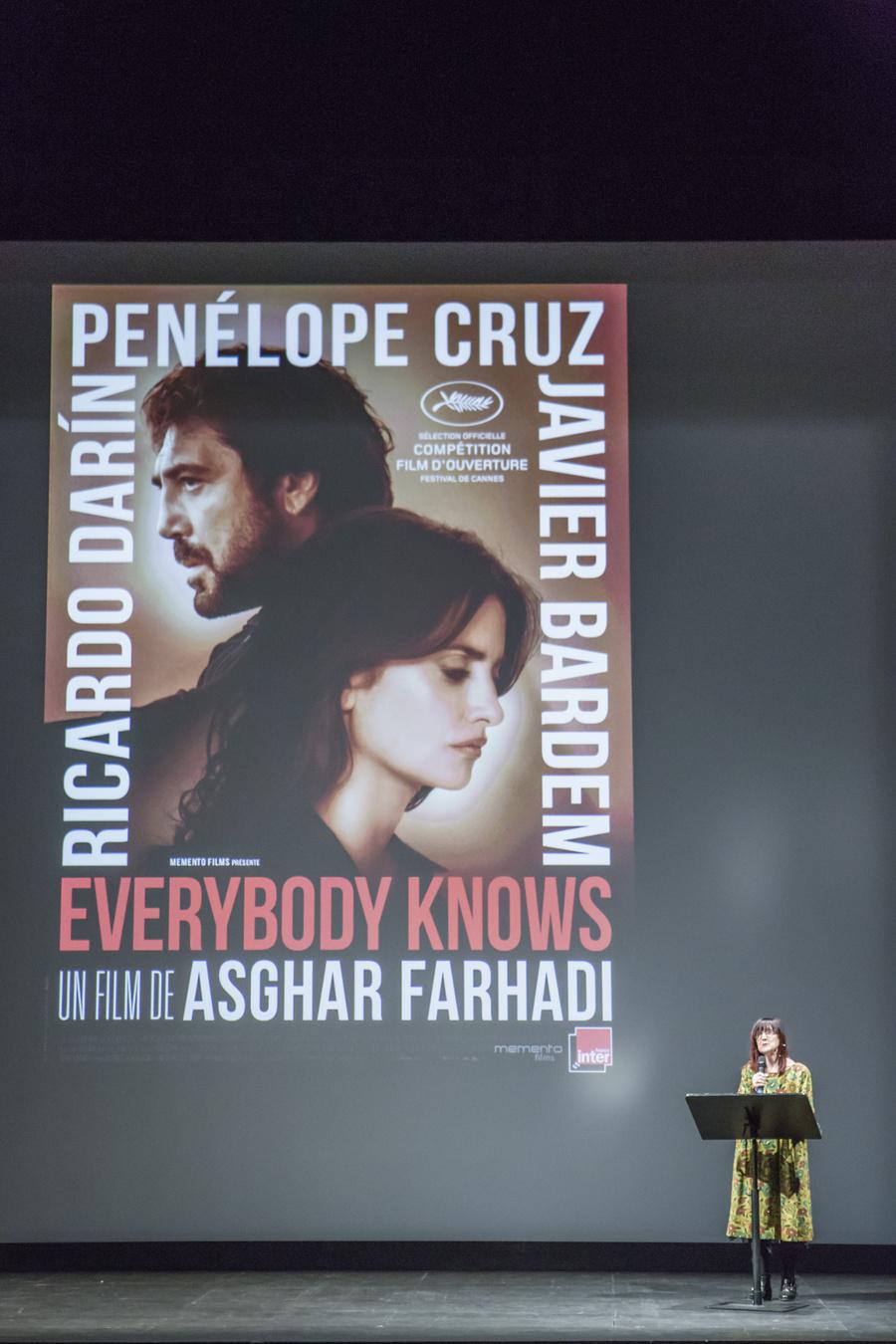 Présentation du film Everybody Knows