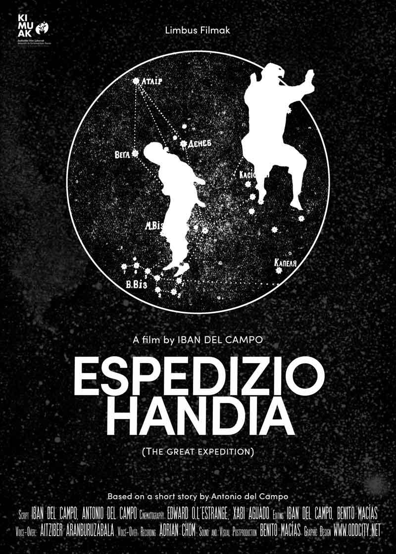 """Affiche """"Espedizio handia"""" de Iban del Campo (2018)"""