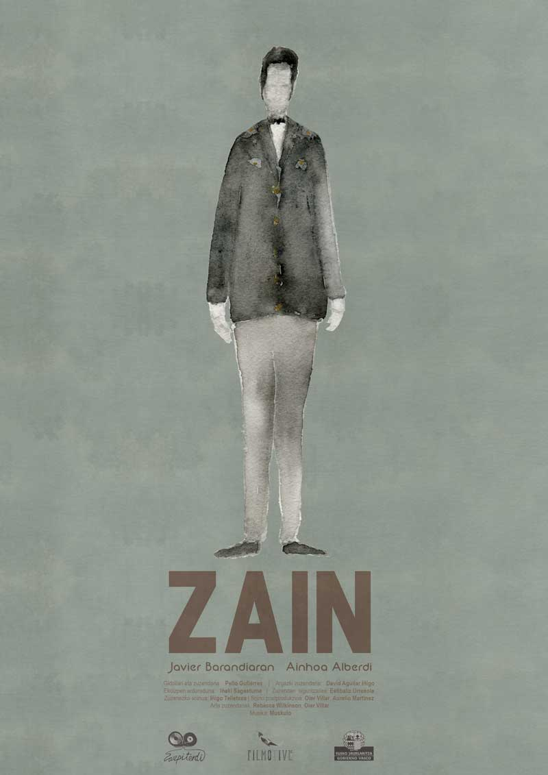 "Affiche ""Zain"" de Pello Gutiérrez (2018)"