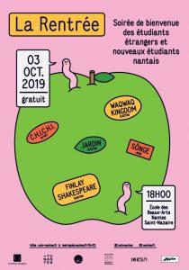 Soirée de rentrée des étudiants étrangers et nouveaux étudiants nantais 2019