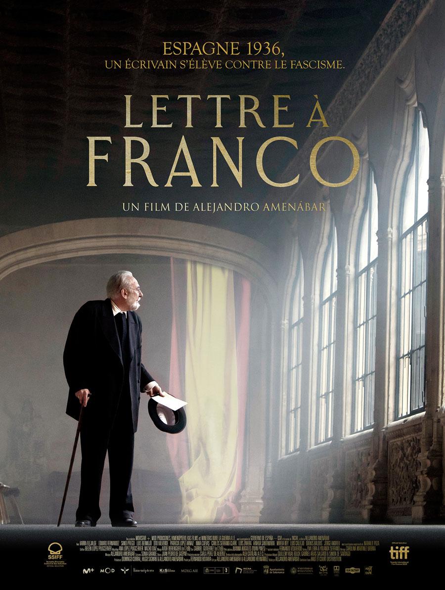 Affiche Lettre à Franco de Alejandro Amenábar