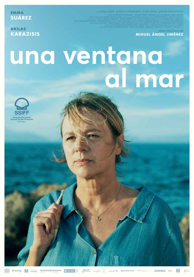 Affiche Una ventana al mar de Miguel Ángel Jiménez (2019)