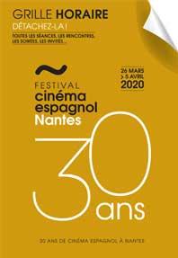 Grille horaire Festival Cinéma Espagnol de Nantes 2020