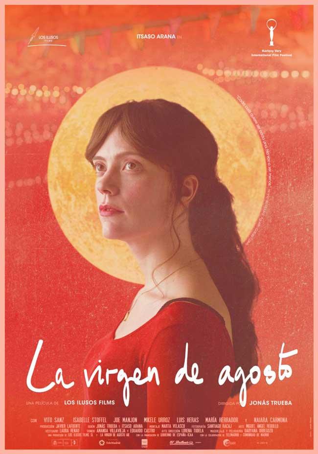 Affiche La Virgen de agosto de Jonás Trueba (2019)
