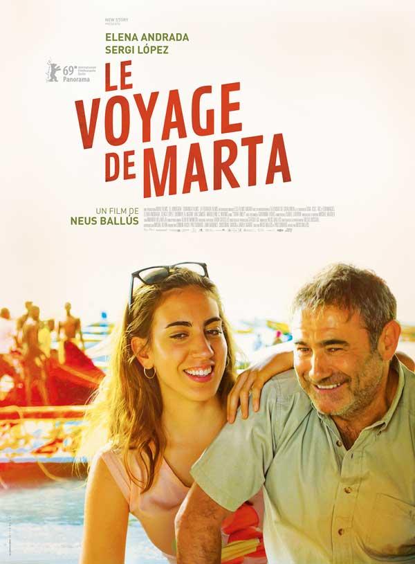 Affiche El viatge de la Marta / Le voyage de Marta de Neus Ballús (2019)