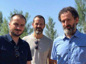 Aitor Arregi, Jose Mari Goenaga et Jon Garaño