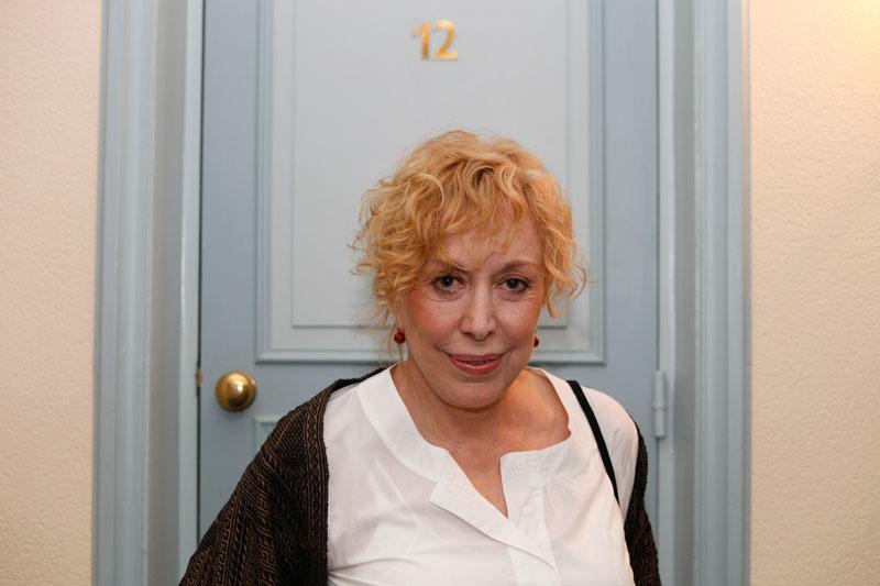 L'actrice Rosa Maria Sardà au Théâtre Graslin en 2009
