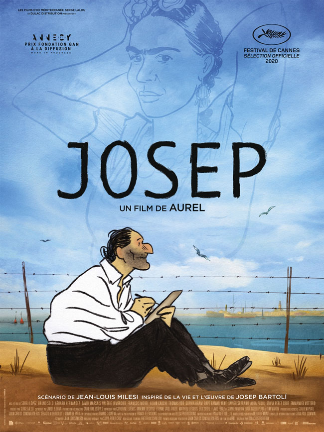 """Affiche """"Josep"""" de Aurel (2020)"""