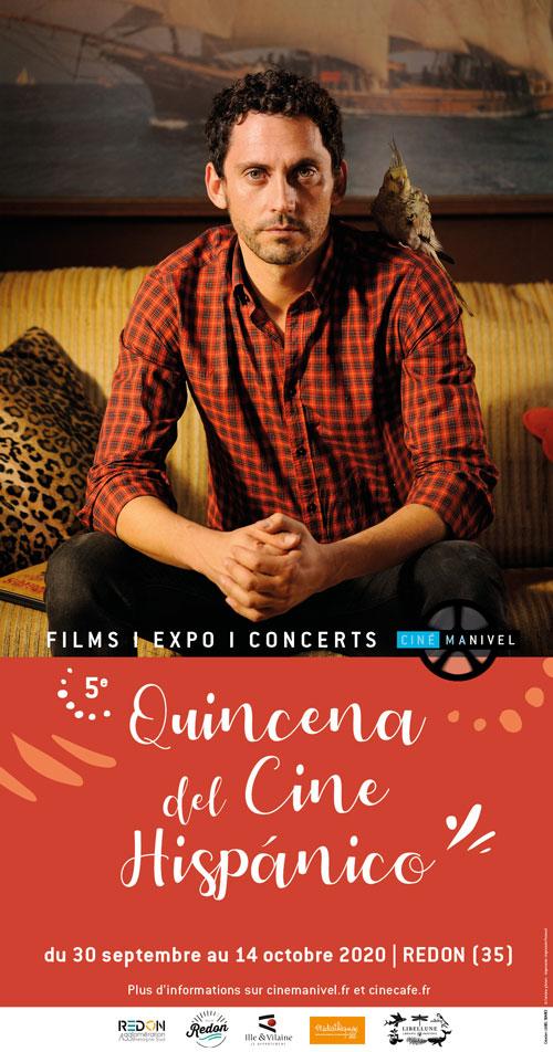 Affiche 5e Quincena del cine hispánico