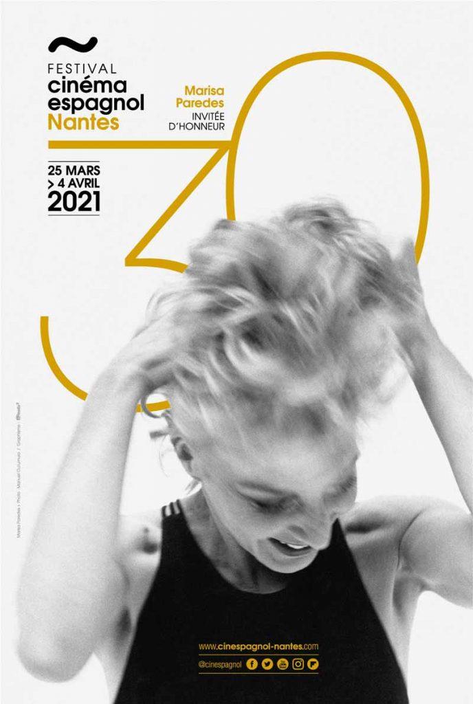 Affiche des 30 ans du Festival du Cinéma Espagnol de Nantes