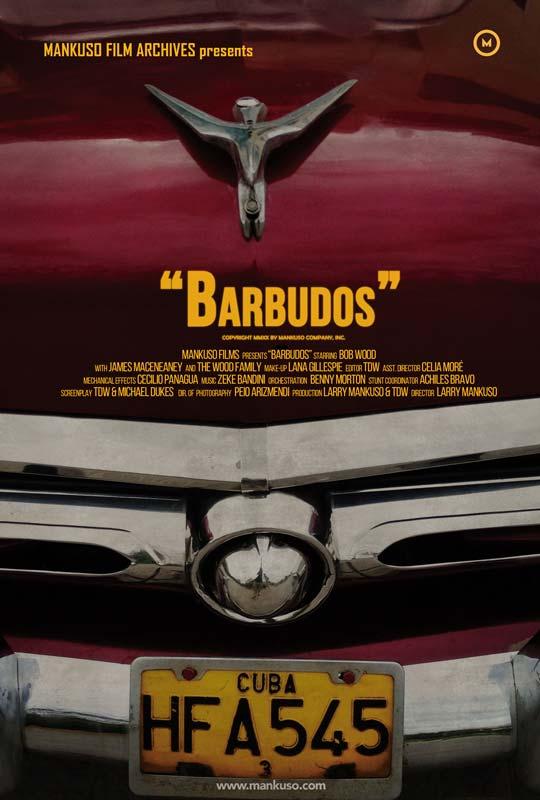 """Affiche """"Barbudos"""" (2020)"""