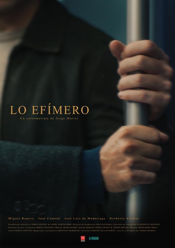 """Affiche """"Lo efímero"""" (2020)"""