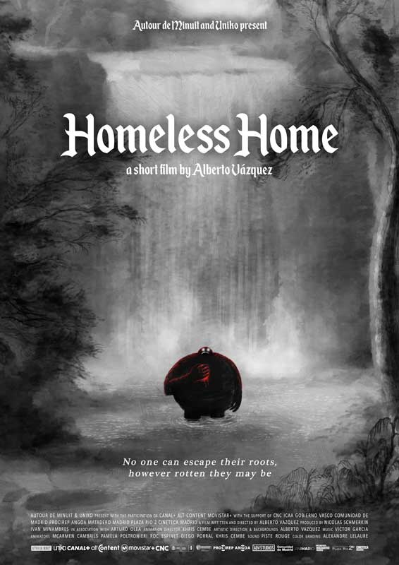 "Affiche ""Homeless Home"" (2020)"