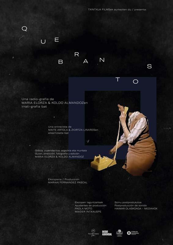 "Affiche ""Quebrantos"" (2020)"