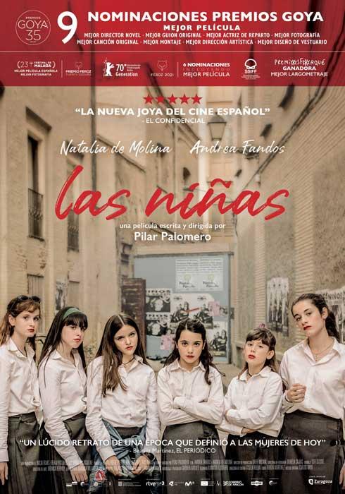 "Affiche ""Las niñas"" (2020)"