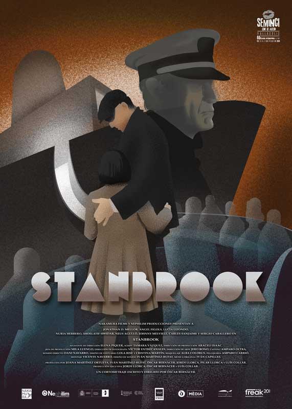 "Affiche ""Stanbrook"" (2020)"