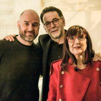 Joxean Fernández, José Marquez, Pilar Martínez-Vasseur, co-directeurs du Festival du Cinéma Espagnol de Nantes
