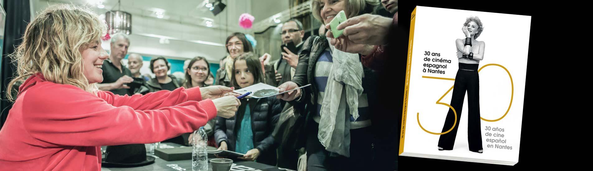 "Livre ""30 ans de cinéma espagnol de Nantes"""