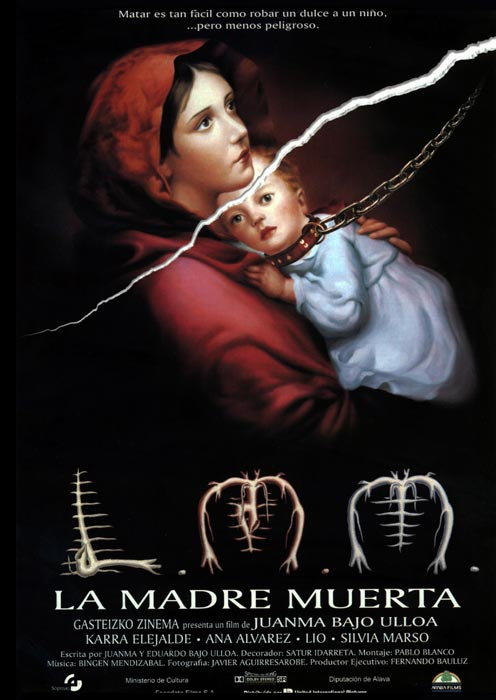 "Affiche ""La madre muerta"" (1993)"