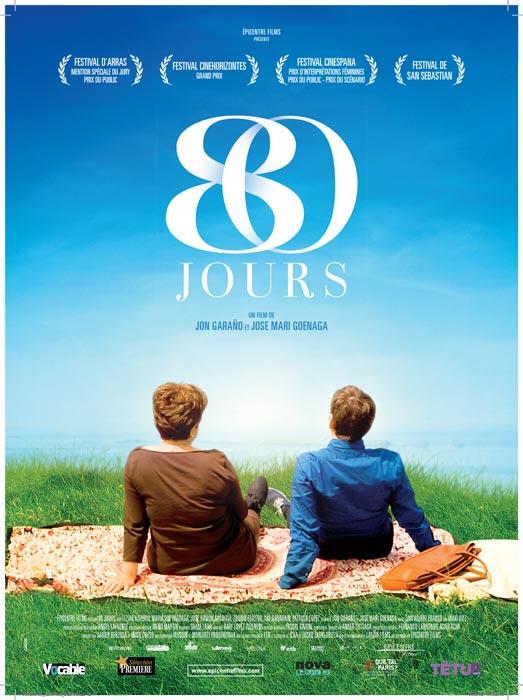 """Affiche """"80 jours"""" (2010)"""