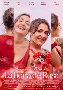 """Affiche """"La boda de Rosa"""" / """"Le mariage de Rosa"""" (2020)"""